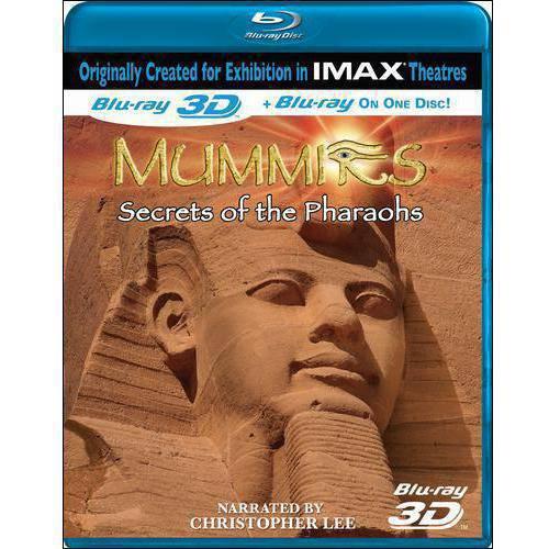 Mummies: Secrets Of The Pharaohs (IMAX) (3D) (Blu-ray) (Widescreen)