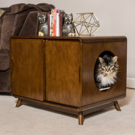 Boomer George Carter Mid Century Modern Cat Litter Box