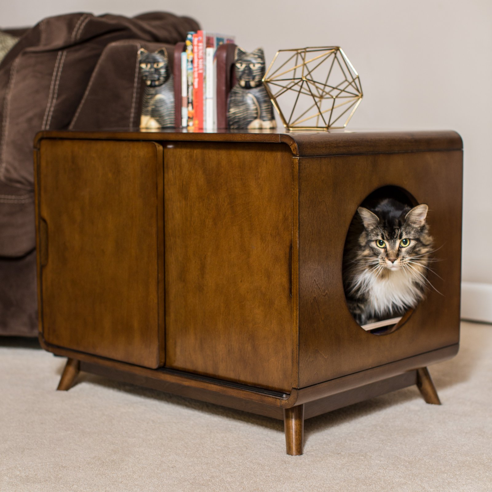 Superieur Product Image Boomer U0026 George Carter Mid Century Modern Cat Litter Box
