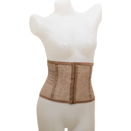 Rago Extra Firm Waist Nipper No Roll - 827-XS-Mocha