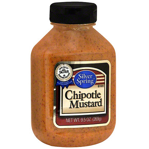 Silver Spring Chipotle Mustard, 9.5 oz (Pack of 9)