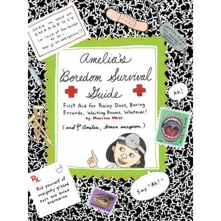 Amelia's Boredom Survival Guide (Part of Amelia) By Marissa Moss - image 4 de 4