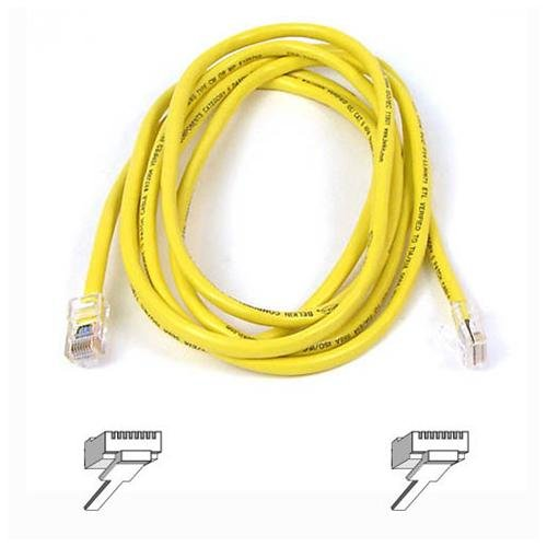 Belkin Cat5e Patch Cable - 1 X Rj-45 Male Network - 1 X Rj-45 Male Network - 6ft - Yellow (a3l79106ylw)