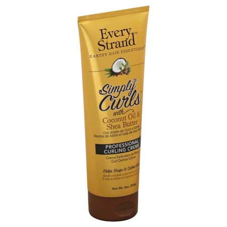 Every Strand Simply Curls with Coconut Oil and Shea er ... on