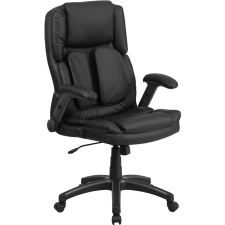 Flash Furniture Extreme Comfort High Back Black Leather