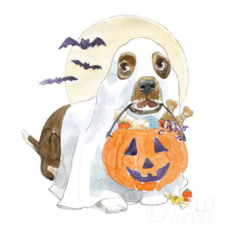 Halloween Pets III Poster Print by Beth Grove