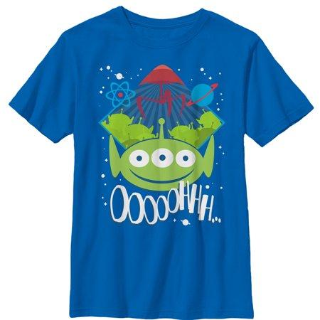 Toy Story Boys' Three-Eyed Alien Party T-Shirt - Toy Story Shorts Halloween