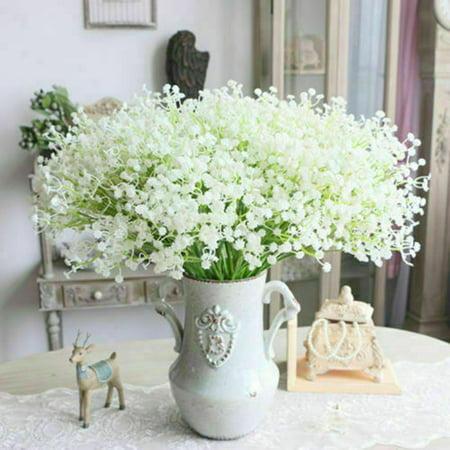 KABOER Faux Gypsophila Flower Fake Silk Wedding Party Bouquet Home