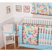 Sumersault Sunshine Safari 10pc Crib Bed