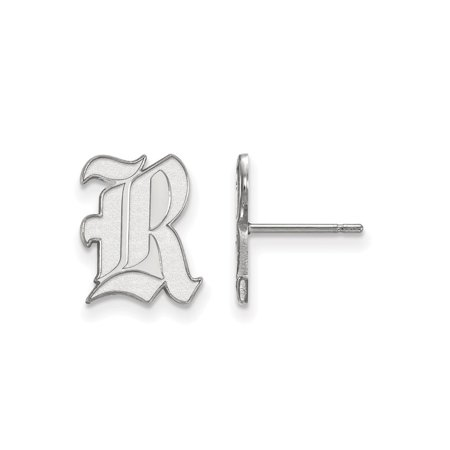(Rice University Owls Small Post Earrings in Sterling Silver 1.36 gr)