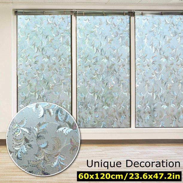 Pvc Door Window Privacy Film Non Adhesive Static Window Glass Film For Glass Door Kitchen Bathroom 23 62 X 47 24 Walmart Com Walmart Com