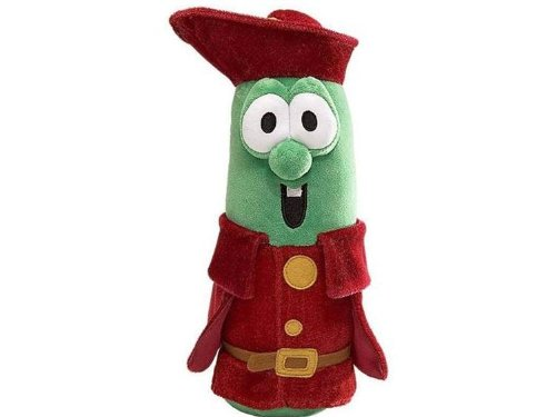 "Veggie Tales by Enesco Prince Larry 12"" Plush, Plush By VeggieTales from USA by"