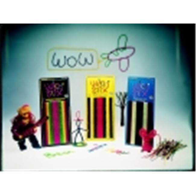 Wikki Stix 6 inch Classroom Set, Pack - 600