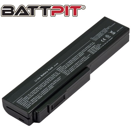 BattPit: Laptop Battery Replacement for Asus G50V-A2 07G016SX1865M 70-N1S1B1000Z 70-NWF1B1000Z 90-N0P1B2000Y L062066 - image 1 of 1
