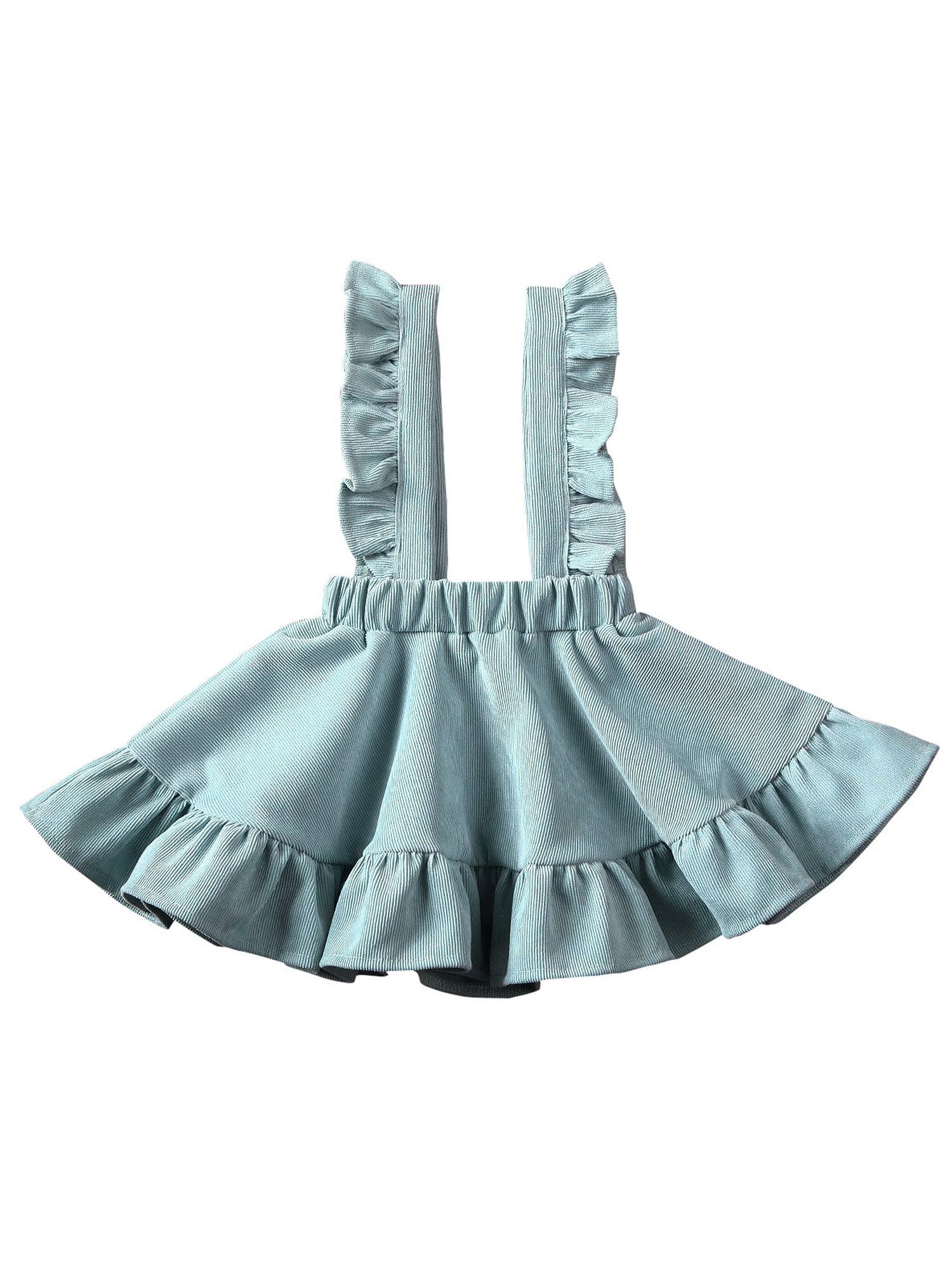 Suefunskry Suefunskry Baby Girls Dress Tops Kids Tutu Skirt Suspender Wedding Party Outfits Clothes Walmart Com Walmart Com