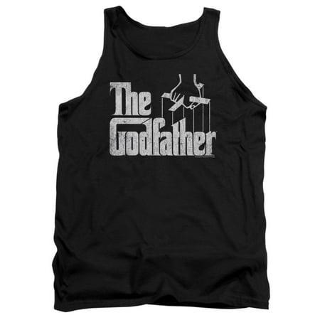 Godfather Men's  Logo Mens Tank - Black Godfather