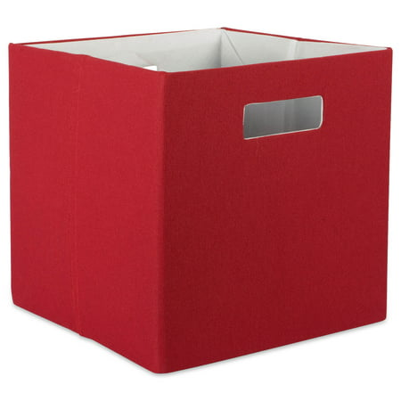 Dii Hard Sided Collapsible Fabric Storage Container For