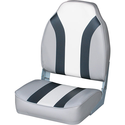 Wise Boat Seat, Grey/Charcoal/White