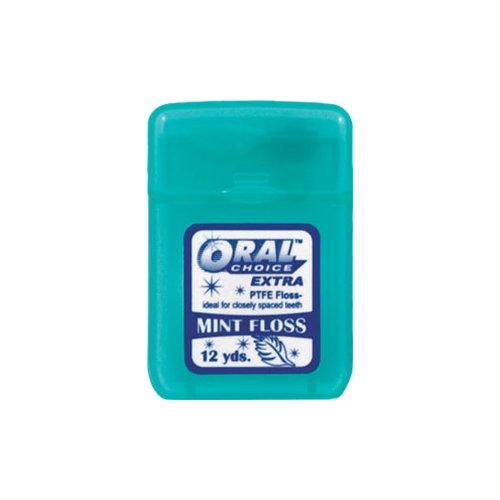 Oral Choice 3531-B Extra PTFE Mint Flavored Dental Floss 12 pcs