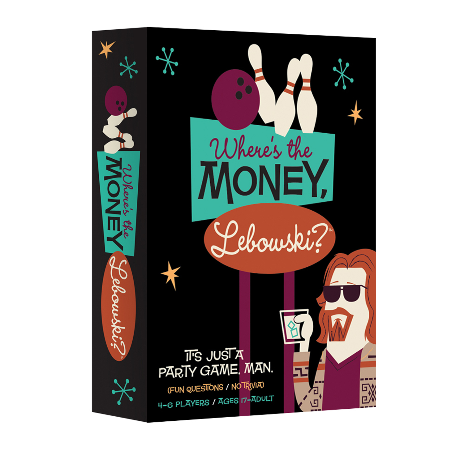Where's the Money, Lebowski?™ - An Official Party Game based on The Big Lebowski™