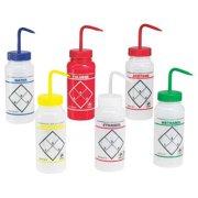 SP SCIENCEWARE Wash Bottle,Std,16 oz,500mL,Asstd,PK6 11646-0050