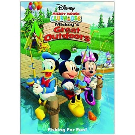 Mickey Mouse Clubhouse: Mickey's Great Outdoors (DVD) (Mickey Mouse Club Halloween Episode)
