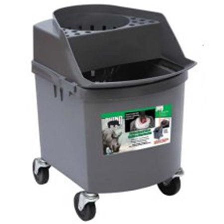 Rhino Safes (Emsco Commercial Products 2680-9 Rhino Mop Bucket with Wringer Metal-Free Inmate Safe for Corrections Facilities -)