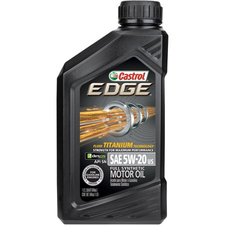 castrol edge 5w 20 full synthetic motor oil 1 qt. Black Bedroom Furniture Sets. Home Design Ideas