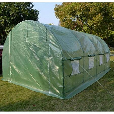 Sunrise Umbrella 20L x 10W x 7H ft. Greenhouse Replacement Cover