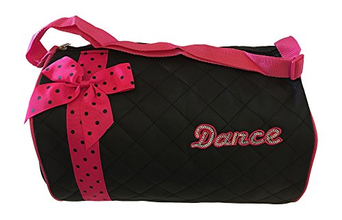 Girls Dance Duffle Bag with Shoulder Strap by
