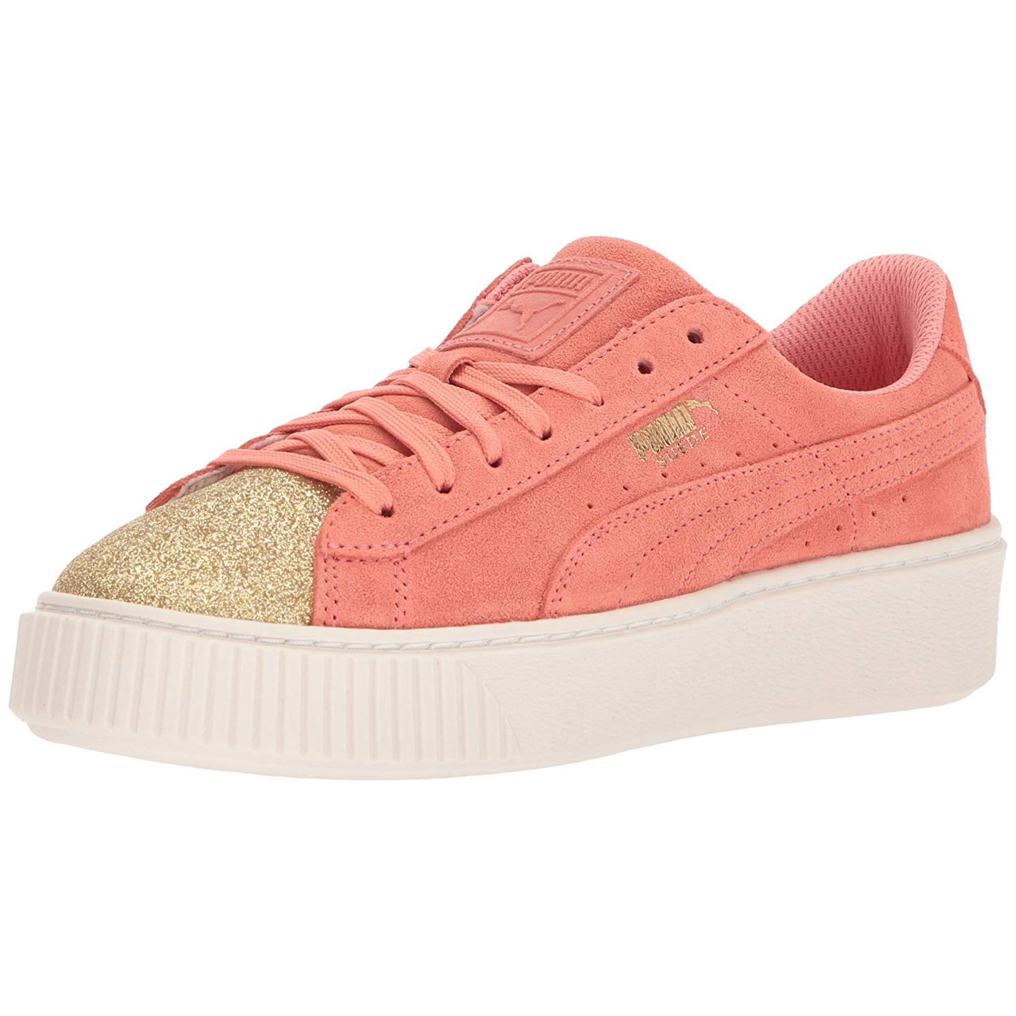 buy good favorable price classcic Kids Puma Girls Kids' Suede Platform Glam Sneaker Low ...