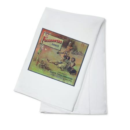 Pocahontas Orange Label (100% Cotton Kitchen Towel)