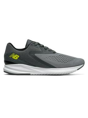New Balance Men's Fuel Core Vizo Pro Run Shoes Grey with Yellow