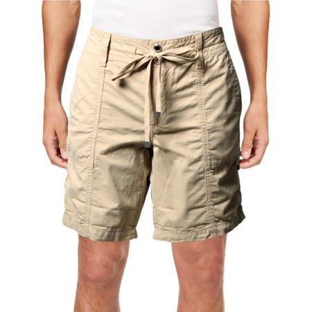 Tan Fight Shorts (Lauren Ralph Lauren Womens Adjustable Cuff Drawstring)