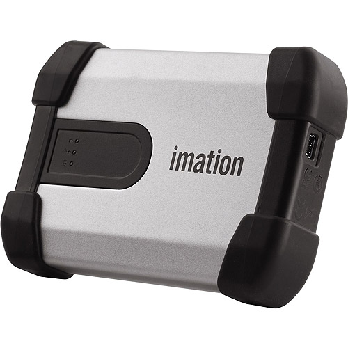 Imation Defender H100 500GB USB 2.0 Portable External Hard Drive