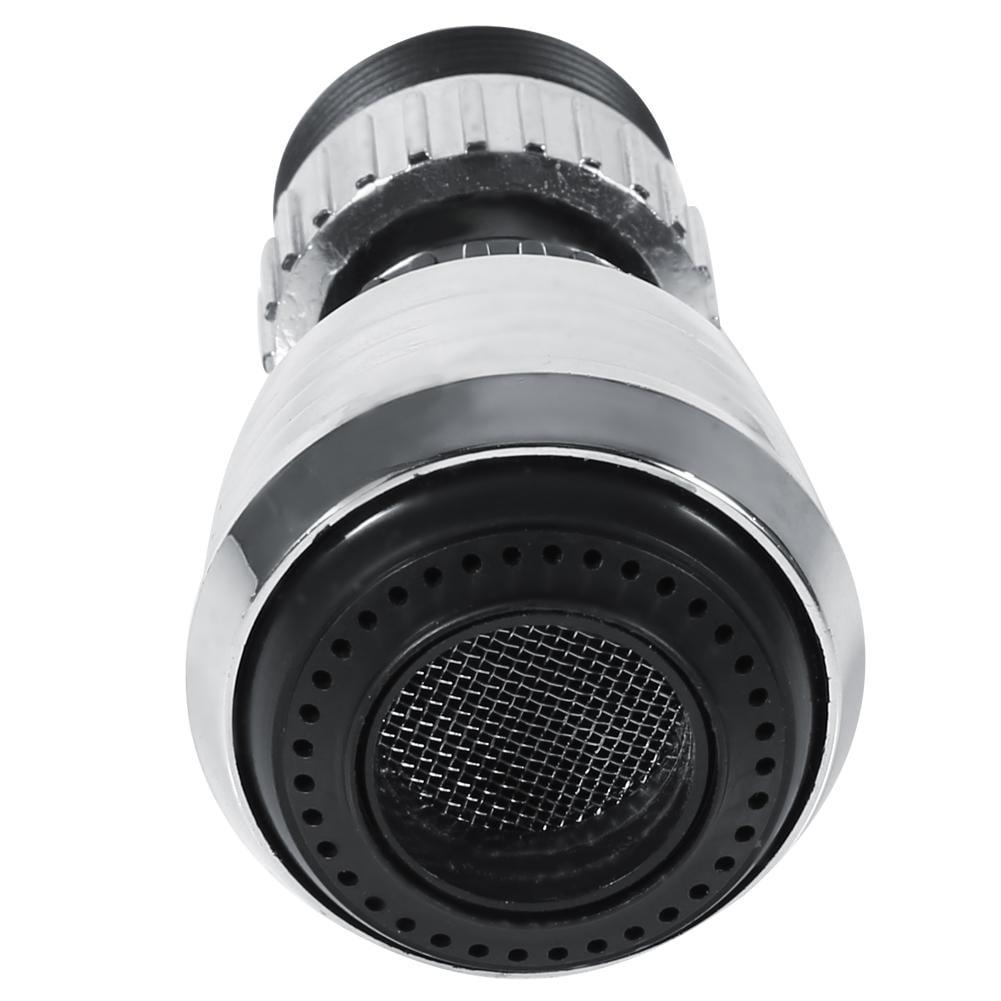 heavKin Kitchen 360 Degree Rotate Faucet Nozzle Water Filter Adapter Water Purifier Saving Tap