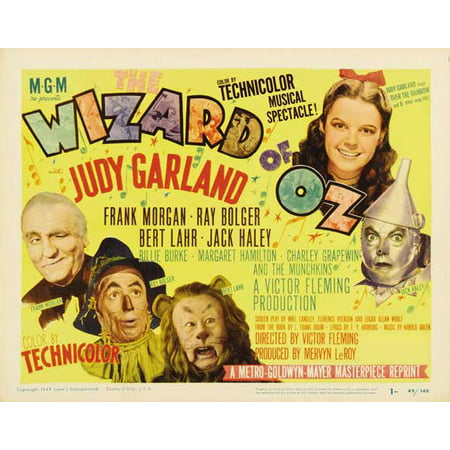 The Wizard of Oz - movie POSTER (Style B) (30