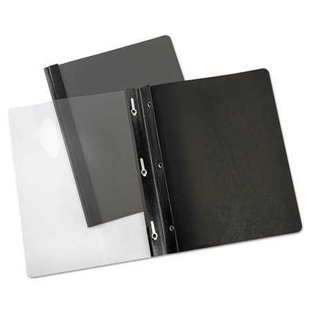 Universal Paper Report Cover, Tang Clip, Letter, 1/2