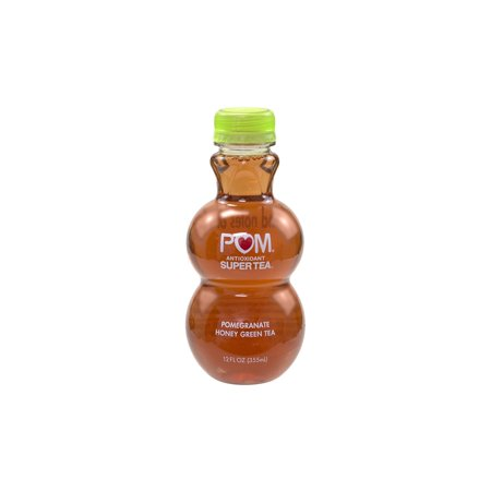(POM Antioxidant Super Tea Pomegranate Honey Green Tea, 12 oz, 6 Count)