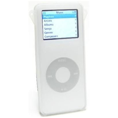 Silicone Skin Cover for 1st Generation iPod Nano - (Nano 1st Generation Silicone Skin)