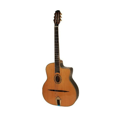 ADM JG751 Professional Oval Hole Gypsy Jazz Guitar with Case