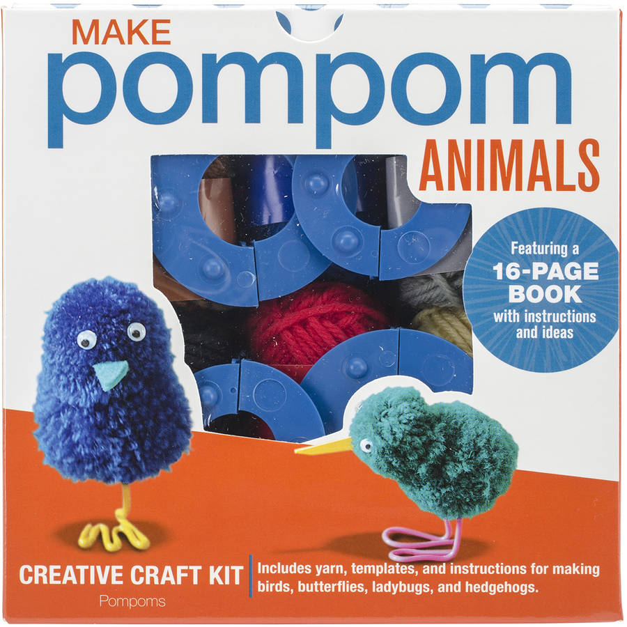 Pompom Animals Kit-