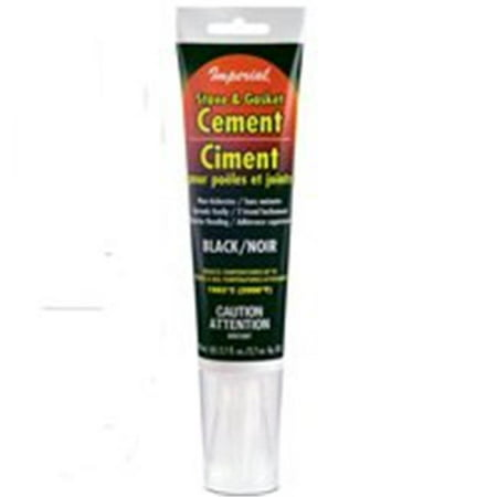 - Imperial KK0075-A Stove and Gasket Cement, 2.7 oz Tube