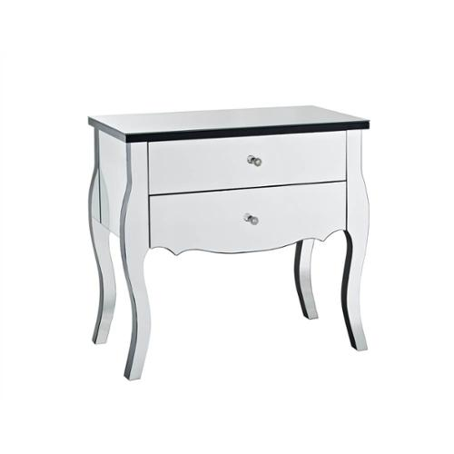 Exceptionnel Powell Mirrored 2 Drawer Console