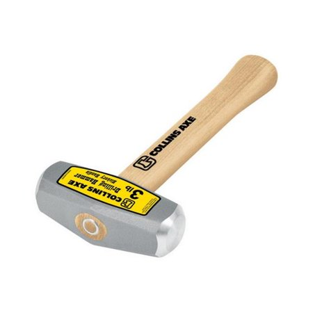 Collins Drilling Hammer 3 Lbs Hickory Handle