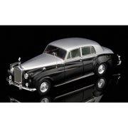 Rolls Royce Phantom VI James Young Silver/Black 1/43 Diecast Car Model by True Scale Miniatures