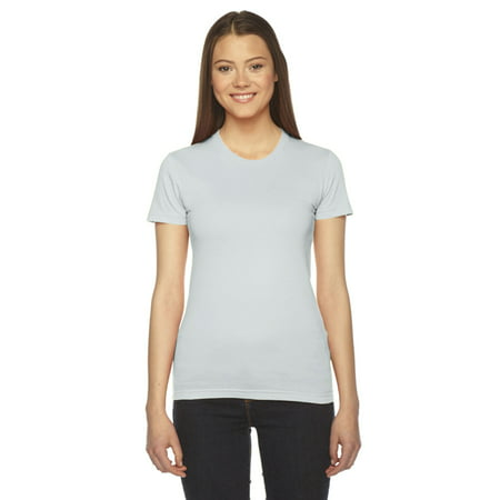 American Apparel Ladies Fine Jersey Short-Sleeve T-Shirt-2102