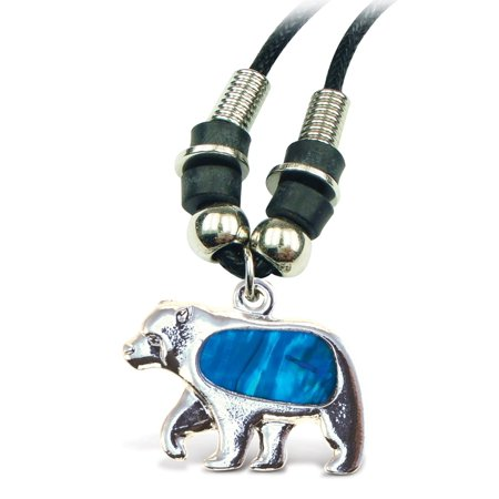 "Aqua Jewelry  - Necklace - Wild Style Chain 18"" - Bear"