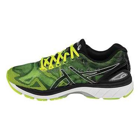 ASICS Men's GEL Nimbus 19 Running Shoes (BlackYellow, 9)