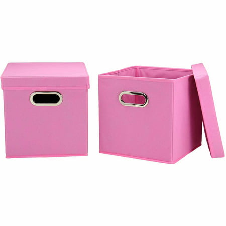 Geo Cubes Slot Opening Lid (Household Essentials Cube Set with Lids, 2pk,)